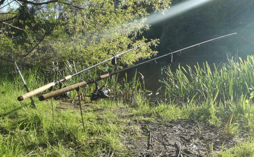 Moje rybářské pruty