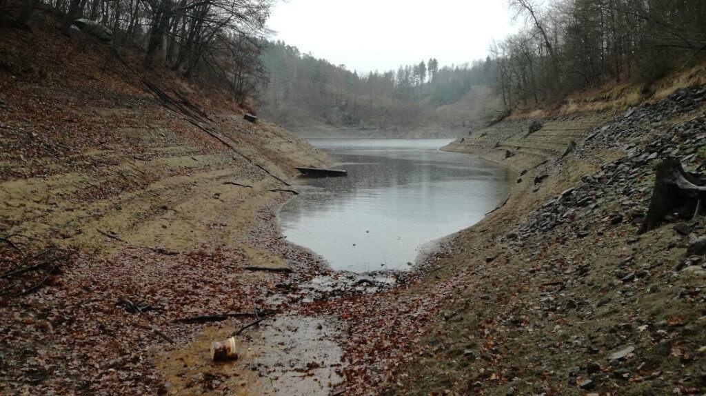 Stav vody na Orlíku rok 2018