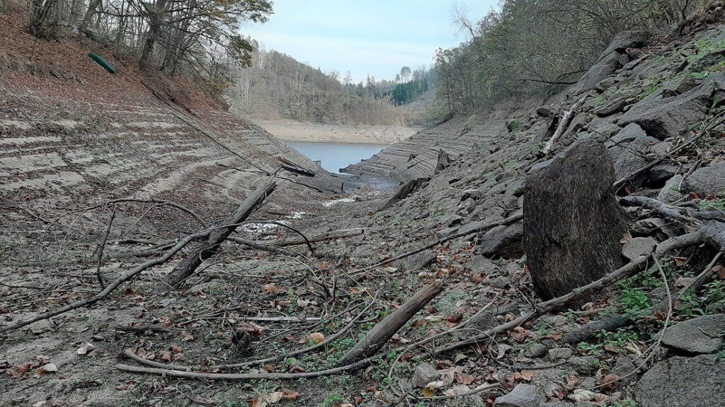 Stav vody na Orlíku rok 2019